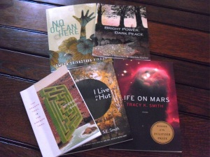 Books from Modern History Press, Diode Editions, Mud Luscious Press, Cleveland State University Poetry Center, and Graywolf Press