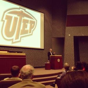 Philip Levine reading at UTEP